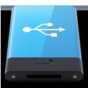 HDD Blue USB W-128