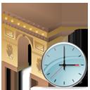 Arch of Triumph Clock-128