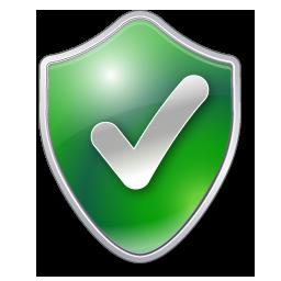 Checked shield green