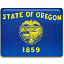 Oregon Flag Icon