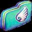 Wing Green Folder icon