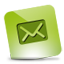 Mail green hover Icon