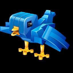 Twitter robot bird