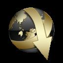 jDownloader Black and Gold-128