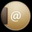 Address round icon