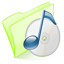 Dossier Green Musique Icon