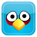 Angry Blue Bird-128