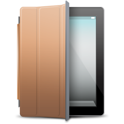 iPad 2 black brown cover