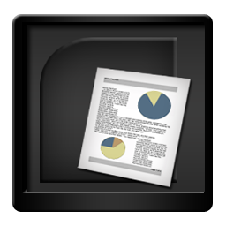 Black Microsoft PowerPoint