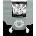Silver iPod Nano-128