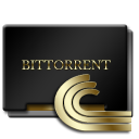 Bittorrent Black and Gold-128