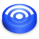 Rss blue circle-128