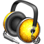Golden Garnish headphones icon