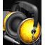 Golden Garnish headphones-64