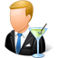 Bartender Male Light icon