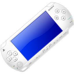 White Playstation Portable
