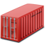 Container red icon
