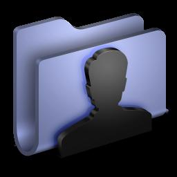 User BLue Folder