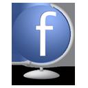 Facebook Globe-128