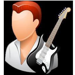 Guitarist Male Light