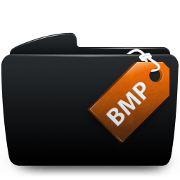 Folder black bmp
