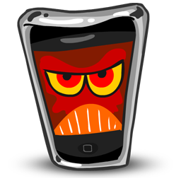 iPhone Angry