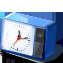 Blue Desk Clock-128