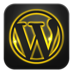 Wordpress neon glow