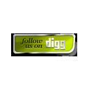Digg follow us green-128