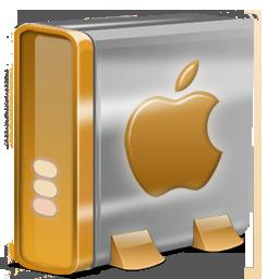 Mac HD orange