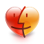 Finder heart Icon