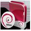 Debian disc icon