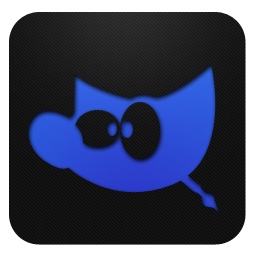 GIMP blueberry