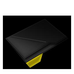 Empty Folder Yellow