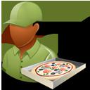 Pizzadeliveryman Male Dark-128
