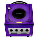 Gamecube purple-128