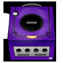 Gamecube purple-128