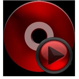 Cd Media black red