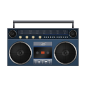 Boombox Blue-128