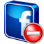 Facebook Delete icon