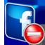 Facebook Delete icon