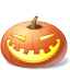 Laugh Pumpkin Icon