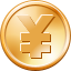Yen Coin toolbar icon