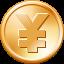 Yen Coin toolbar Icon