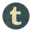 Retro Tumblr Rounded icon