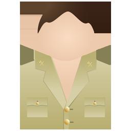 Guardia civil no uniform