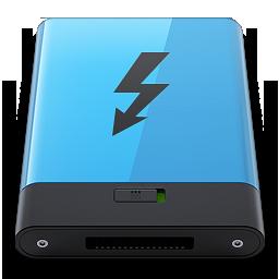 HDD Blue Thunderbolt B