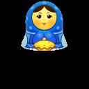 Blue Matreshka Up-128