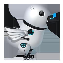 Futuristic Twitter Bird