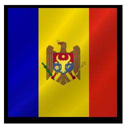 Republic of Moldova flag